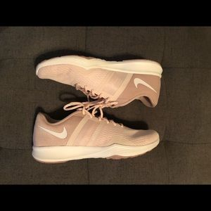 Light Pink Nike City Trainers